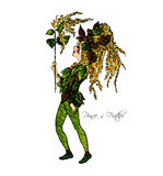 Flower-power-folket Arkivfoton