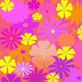 Flower Power Pastels Design Stock Photo