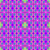 Flower Power Seamless Pattern Stock Photo