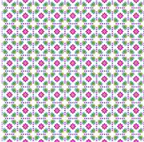 Flower print cloth Stock Photo