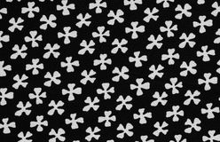 Flower print fabric Royalty Free Stock Images