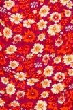Flower print fabric Royalty Free Stock Image
