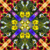 Flower Quilt Stock Images