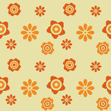 Flower retro background Royalty Free Stock Photo