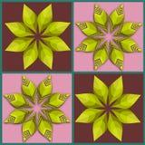 Flower retro seamless pattern Stock Photo