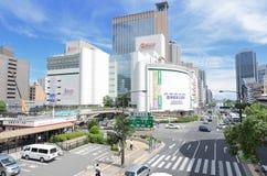 Flower Road in Sannomiya, Kobe, Japan Royalty Free Stock Photography