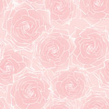 Flower rose seamless pattern Royalty Free Stock Photography