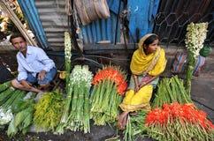 Flower sale Stock Image