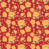 Flower samless pattern. Stock Images