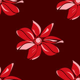 Flower sample. Vector illustration Royalty Free Stock Image
