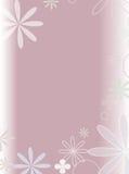 Flower scene. Retro floral Vector Illustration