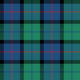 Flower of scotland tartan fabric texture seamless pattern Royalty Free Stock Image