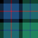 Flower of scotland tartan seamless pattern fabric texture Royalty Free Stock Images