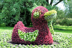 Flower sculpture Royalty Free Stock Image