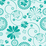 Flower seamless background Royalty Free Stock Photography