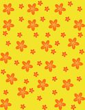 Flower seamless background Stock Image