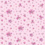 Flower seamless background. Stock Photography