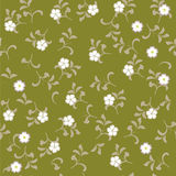 Flower seamless background design in vector. Floral seamless backgrounds for design of fabrics and wallpapers Stock Photo