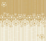 Flower seamless background design in vector. Floral seamless backgrounds for design of fabrics and wallpapers in vector Stock Photo