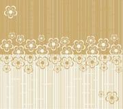Flower seamless background design in vector Stock Photo