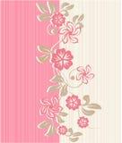 Flower seamless background design in vector Stock Photos