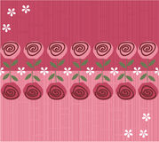 Flower seamless background design in vector. Seamless form backdrops for the design of fabrics and wallpapers Royalty Free Stock Photography