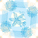 Flower Seamless Ornamental Background Royalty Free Stock Photography