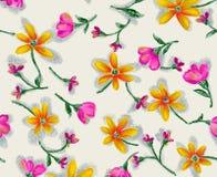 Flower seamless pattern Royalty Free Stock Image