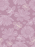 Flower seamless pattern. Royalty Free Stock Photos