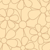 Flower  seamless pattern Stock Image