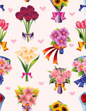 Flower seamless pattern Stock Photo