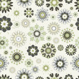 Flower seamless pattern. Stock Image