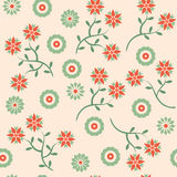 Flower seamless pattern. Flower seamless background pattern (illustration Royalty Free Stock Photo
