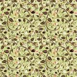 Flower seamless pattern Stock Image