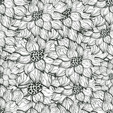 Flower seamless pattern Royalty Free Stock Image