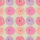 Flower seamless pattern. Beautiful flower seamless pattern illustration vector vector illustration