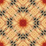 Flower seamless pattern (4) royalty free stock photos