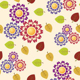 Flower seamless pattern Stock Photography