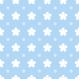 Flower seamless pattern background Royalty Free Stock Images