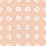 Flower seamless pattern background Stock Photography
