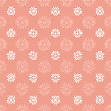 Flower seamless pattern background Royalty Free Stock Image