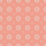 Flower seamless pattern background Royalty Free Stock Photo