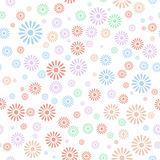 Flower seamless pattern background Stock Photos
