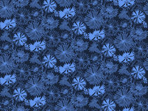 Flower seamless pattern with cornflowers. Vector illustration Stock Photos