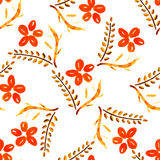Flower seamless pattern, element for design Royalty Free Stock Photography