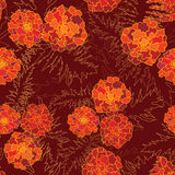 Flower seamless pattern. Royalty Free Stock Photo