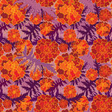 Flower seamless pattern. Royalty Free Stock Images