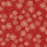 Flower seamless pattern. Stock Photo