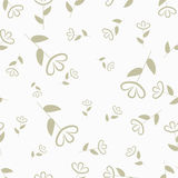 Flower seamless pattern, floral background, vector Stock Photos