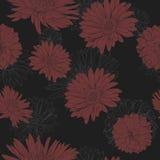 Flower seamless pattern Stock Photo